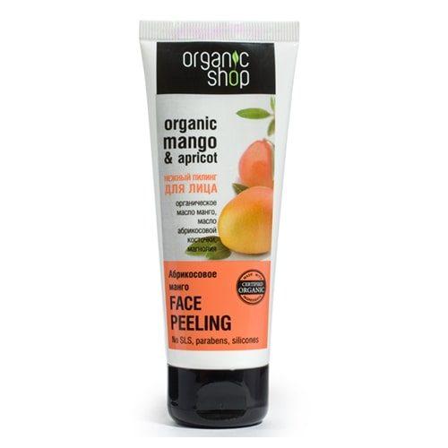 Kem tẩy da chết Face chiết xuất Xoài Mango của Organic Shop