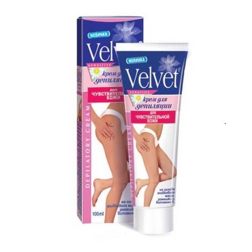 Kem tẩy lông Velvet chính hãng nhập khẩu Nga