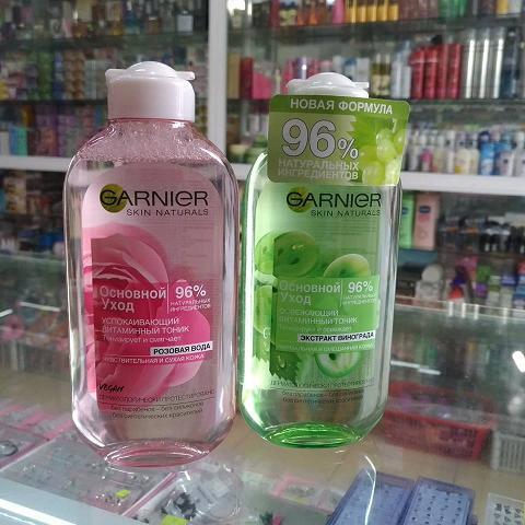 Nước hoa hồng Garnier Skin Naturals chính hãng Nga