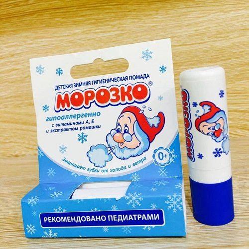Son dưỡng môi Ông Già Tuyết MOPO3CO (dùng được cho trẻ sơ sinh)