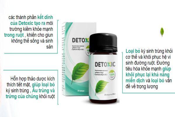 Tác dụng của Detoxic