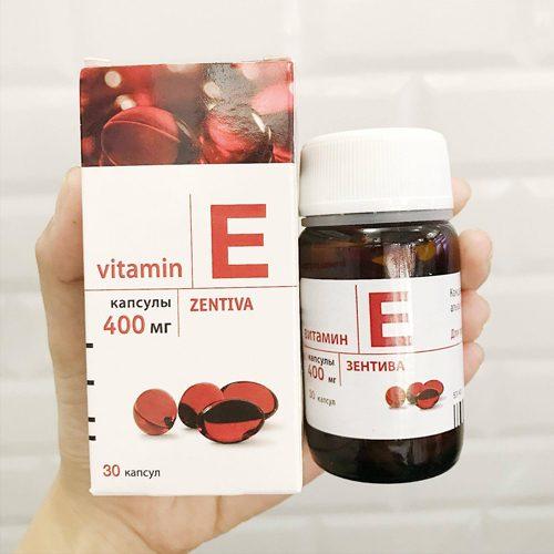 Vitamin E đỏ của Nga có tác dụng gì? Giá bao nhiêu, mua ở đâu