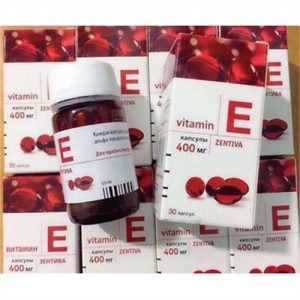 Vitamin E đỏ Zentiva 400mg