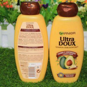 Dầu gội Garnier Ultra Doux tinh chất bơ giúp tóc luôn mềm mượt