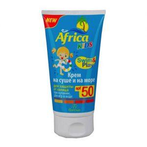 Kem chống nắng cho trẻ em Africa Kids Swim & Play SPF 50