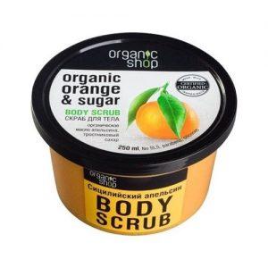 Kem tẩy da chết Body Scrub chiết xuất từ Cam Organic Shop