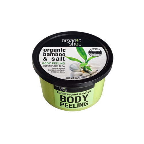 Kem tẩy da chết toàn thân chiết xuất từ Tre hữu cơ Organic Shop