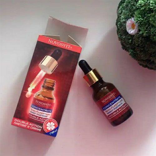 Serum Novosvit đỏ giúp nâng cơ mặt, chống lão hóa gấp 2 lần